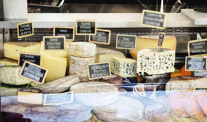 La France, le pays du fromage