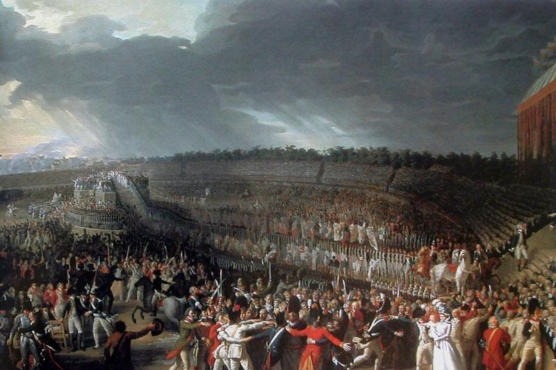 14 juillet 1790, la Fête de la Fédération